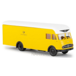 "MB LP 322 camion fourgon Ackerman ""Deutsche Bundespost"""