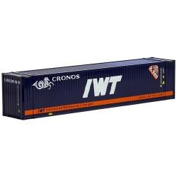 container 45' crénelé Cronos / IWT
