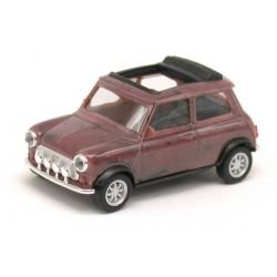 """Austin Mini Cooper """"avec feux anti-brouillard"""" brun marbré"""