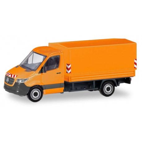 MB Sprinter '18 pick-up bâché Communal