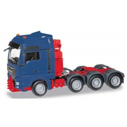 MAN TGX XXL 640 Euro 6 Tracteur lourd 8x4  bleu foncé