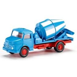 MB LP 710 (1969) camion toupie à béton bleu et blanc