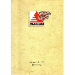 "Catalogue Albedo ""die Goldener 50er"" (1980-86)"