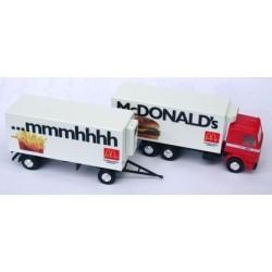 Scania 142M camion + rqe frigo Mc Donald's