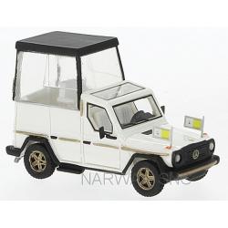 """MB 230 G """"Papamobile"""" (modèle en résine)"""
