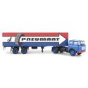 "Liaz 706 + semi-remorque fourgon ""Pneumant"""