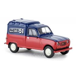 "Renault F4 (1961) Fourgonnette ""Partis 51"""