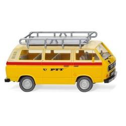 """VW T3 Bus """"PTT Suisses"""" avec galerie (1979)"""