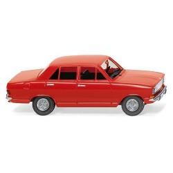 Opel Kadett B berline (1967) rouge trafic