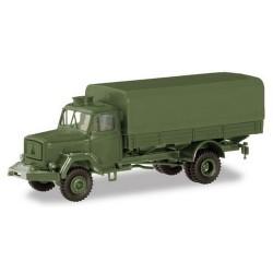"Magirus-Deutz A 6500 camion bâché ""Bundeswehr"" (base Brekina)"