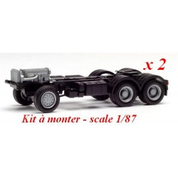 Set de 2 châssis 6x6  Iveco Trakker (kit à monter)
