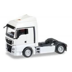 MAN TGX XLX E6 Tracteur solo caréné blanc