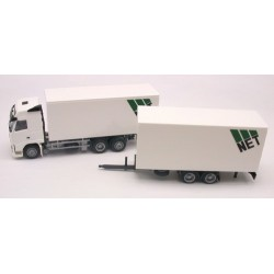"Volvo FH GL 08 camion + remorque fourgon auto-portante ""NET"""