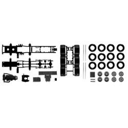 Set de 2 châssis MB Actros SLT 8x4 (kit à monter)