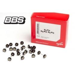 """Set de 12 jeux de roues pour autos """"BBS"""" (diamètre 7 mm - épaisseur 3 mm)"""