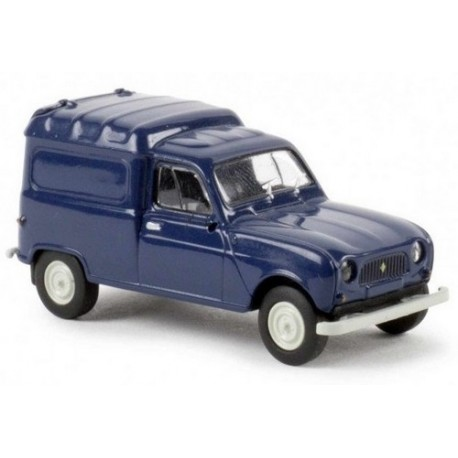 Renault F4 fourgonnette bleu saphir