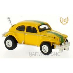 VW Baja Bug (1969) jaune à bande verte