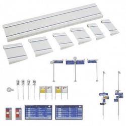 Set de Quai moderne et équipements (kit)
