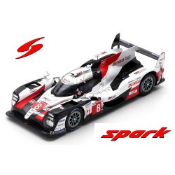 Toyota TS050 Hybrid N° 8 (Toyota Gazoo Racing) Vainqueur 24H du Mans 2019 (S. Buemi - K. Nakajima - F. Alonso)