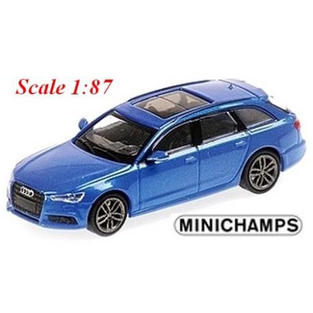 Audi A6 Avant (C8 2018) bleu métallisé