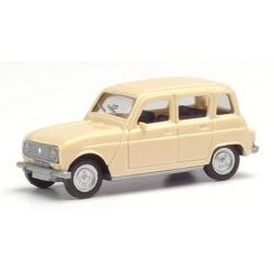 Renault 4L berline beige