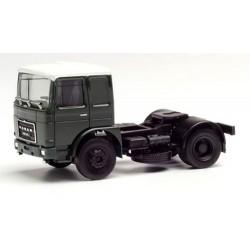 Roman Diesel Tracteur solo 4x2 vert foncé à toit blanc