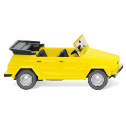 "VW 181 ""Kübel"" (1969) débâchée - jaune vif"
