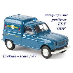 Renault F4 fourgonnette 1961 EDF/GDF