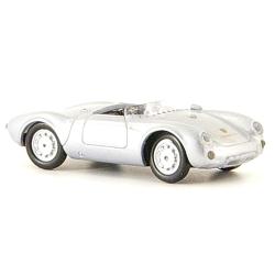 Porsche 550 Spyder 1955 gris métallisé