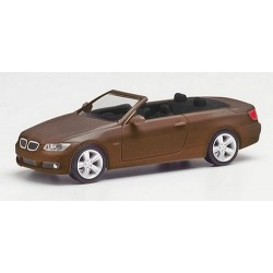 BMW 3er cabriolet ouvert (E93 - 2007) brun métallisé