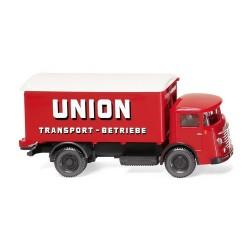 """Büssing 4500 camion fourgon  """"Union Transport"""" avec portes ouvrantes (1953)"""
