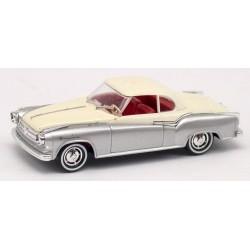 Borgward Isabella coupé 1958 blanc et gris métallisé