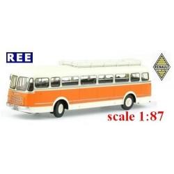 """Autobus Renault R 4190 avec galerie (1949) """"Transports Méresse (59)"""