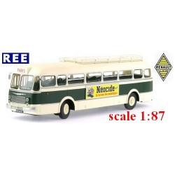 """Autobus Renault R 4190 avec galerie et girouette (1949) """"SGTD"""" (75)"""