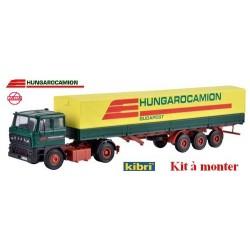 "Raba/Daf 2800 + semi-remorque bâchée ""Hungarocamion"" (kit à monter)"