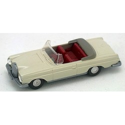 MB 280 SE cabriolet (W111 - 1961) blanc perle