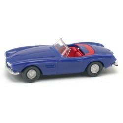 BMW 507 cabriolet bleu outremer de 1956