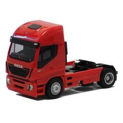 Iveco Stralis Euro 6 tracteur solo rouge sans déflecteur