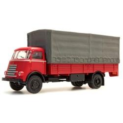 Daf A50 (1955) camion bâché rouge