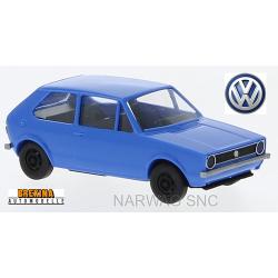 VW Golf I 3 portes (1974) bleu