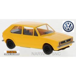 VW Golf I 3 portes (1974) jaune