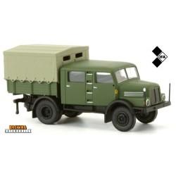 """IFA S 4000-1 camion transport de troupes """"Volkspolizei"""""""