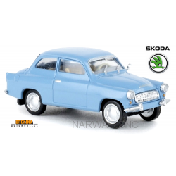 Skoda Octavia berline 2 portes bleu pastel (1960)