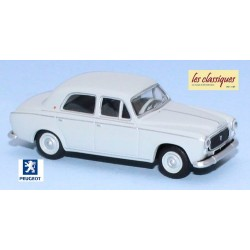 Peugeot 403-7 berline gris perle (1960)