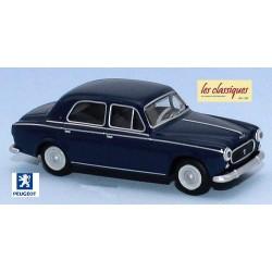 Peugeot 403-7 berline bleu amiral (1960)