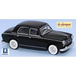 Peugeot 403 berline 8cv noire (1959)