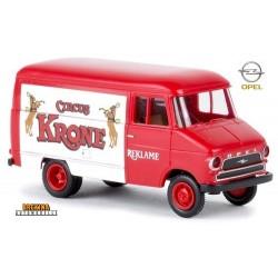 """Opel Blitz fourgon """"Reklame Circus Krone"""""""