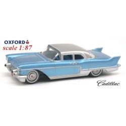 Cadillac Eldorado avec Hard Top (1957) bleu ciel métallisé et toit gris