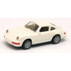 Porsche 911 Coupé blanc (Type 964 -1989)