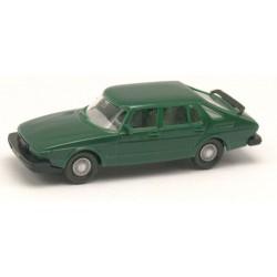Saab 900 Turbo berline (1978) vert foncé